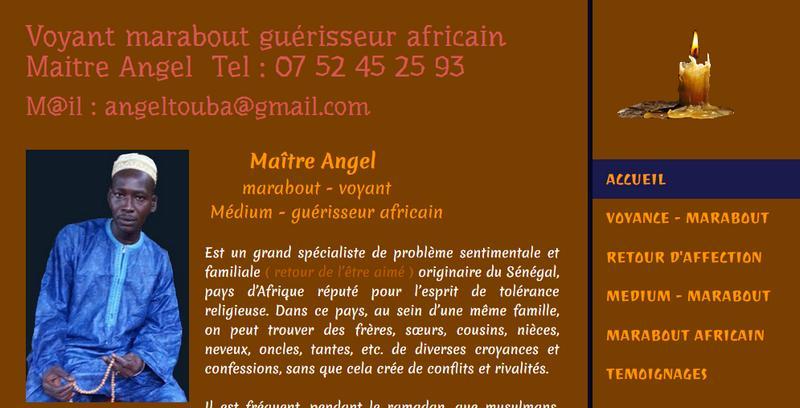 Maitre Angel votre médium africain sur Paris 5c9cb712b1e2